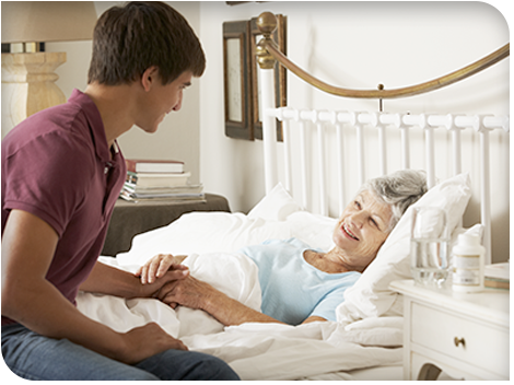 Hospice Care at Home FirstCol End of Life Homecare - Homecare - FirstCol